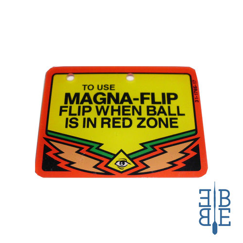 Twilight Zone - Right Magna Sign Plastic