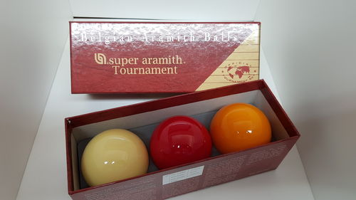 Kugelsatz CAROM TOURNAMENT 61,5 mm  Karambol - Kugeln